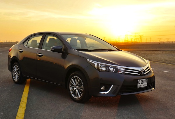Toyota Corolla Saudi Arabia 2013. Picture courtesy of drivearabia.com