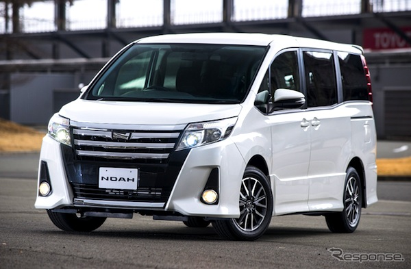 Cars Blog » Japan February 2014: Toyota Aqua #1, Voxy & Noah shoot up