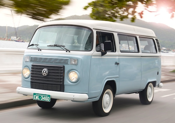 VW Kombi Last Edition Brazil February 2014