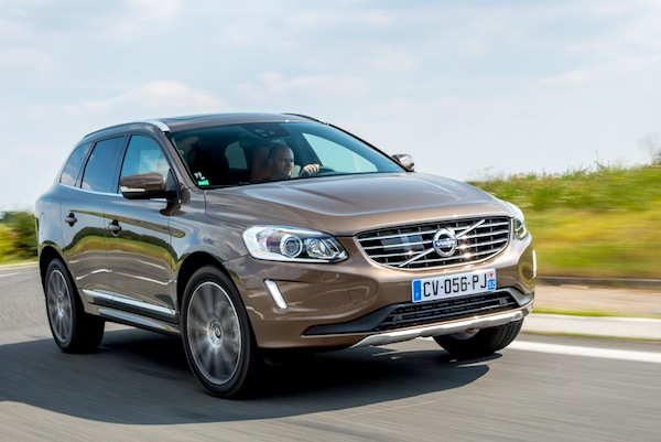 Volvo XC60 Poland February 2014. Picture courtesy of largus.fr