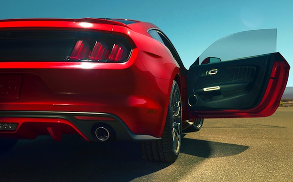 2015 Ford Mustang. Picture courtesy of Ford