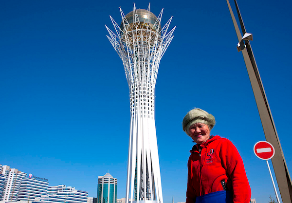 Astana Kazakhstan. Picture courtesy of Eric Lafforgue