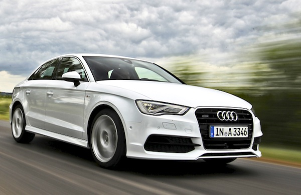 Audi A3 UK April 2014. Picture courtesy of automobile-magazine.fr