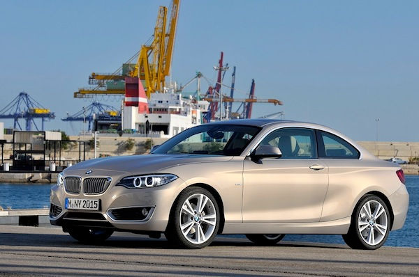 BMW 2 Series Netherlands August 2014. Picture courtesy of largus.fr