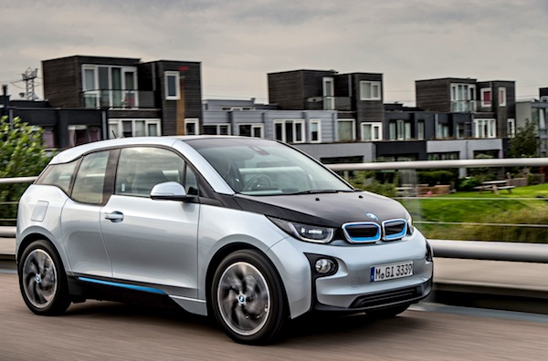 BMW i3 Norway March 2014. Picture courtesy of largus.fr