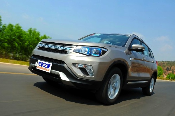 ChangAn CS75 China March 2014. Picture courtesy of autohome.com.cn