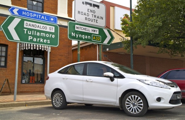 Ford Fiesta sedan Narromine copy