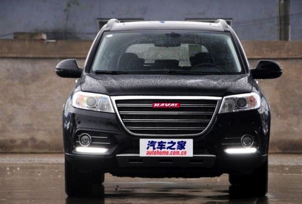 Haval H6 Sport China August 2014. Picture courtesy of autohome.com.cn
