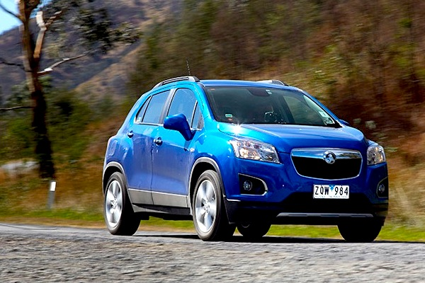 Holden Trax Australia March 2014. Picture courtesy of carsguide.com