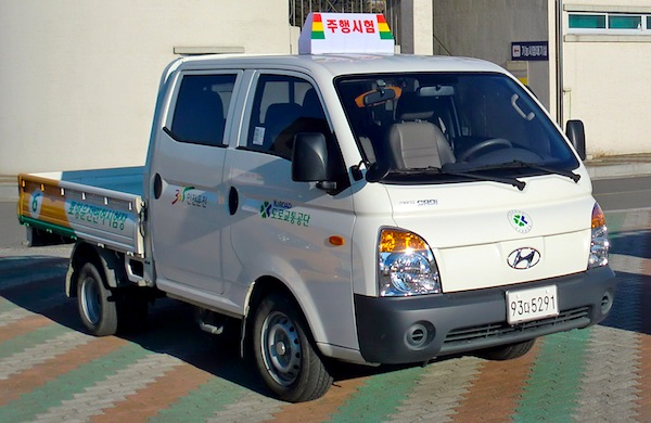 Hyundai Porter South Korea March 2014. Picture courtesy of Wikipedia