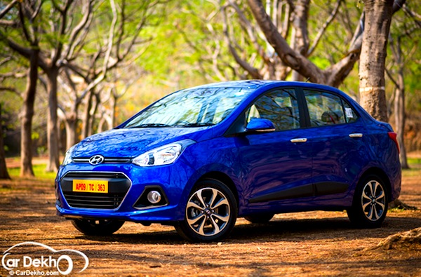 Hyundai XCent India March 2014. Picture courtesy of cardekho.com