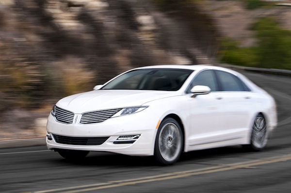 Lincoln MKZ USA March 2014. Picture courtesy of motortrend.com