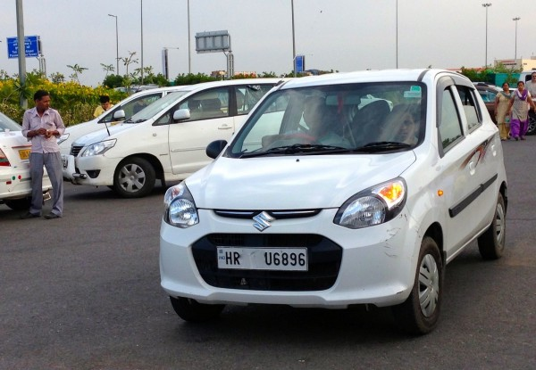 Maruti Alto 800 India March 2014. Picture courtesy Matt Gasnier