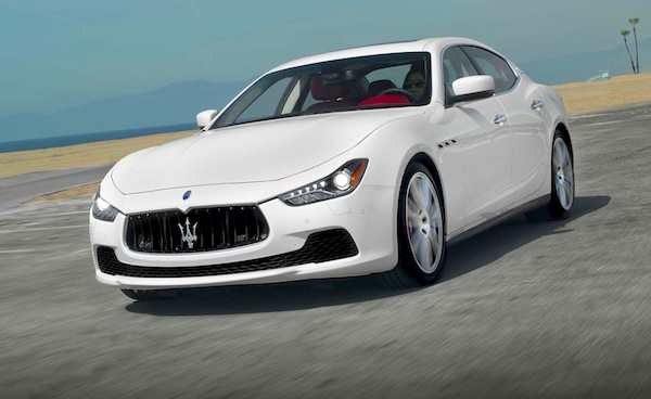Maserati Ghibli USA March 2014. Picture courtesy of www.motortrend.com