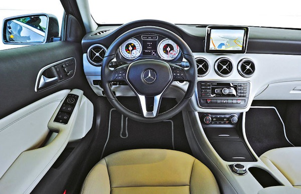 Mercedes-A-Class-Interior. Picture courtesy Auto BIld