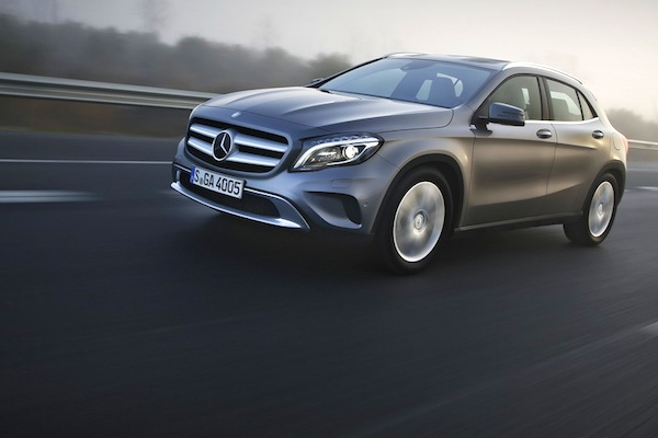 Mercedes GLA World March 2014