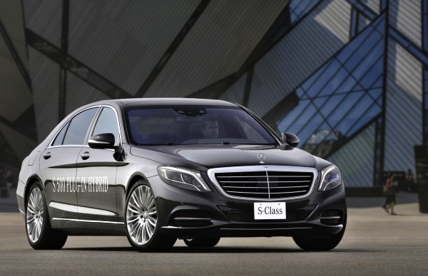 Mercedes S Class Hong Kong China March 2014