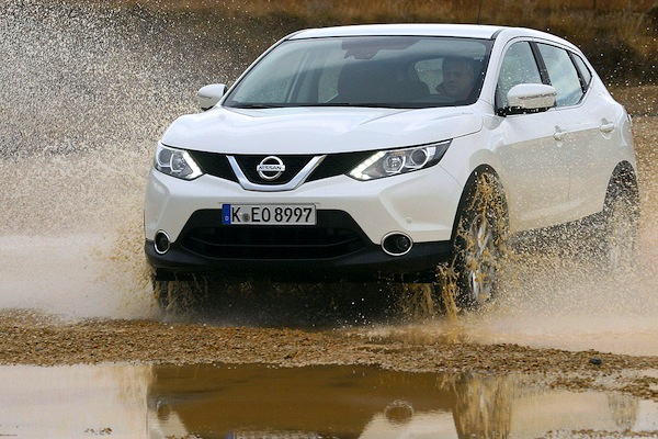 Nissan Qashqai Germany March 2014. Picture courtesy of autobild.de