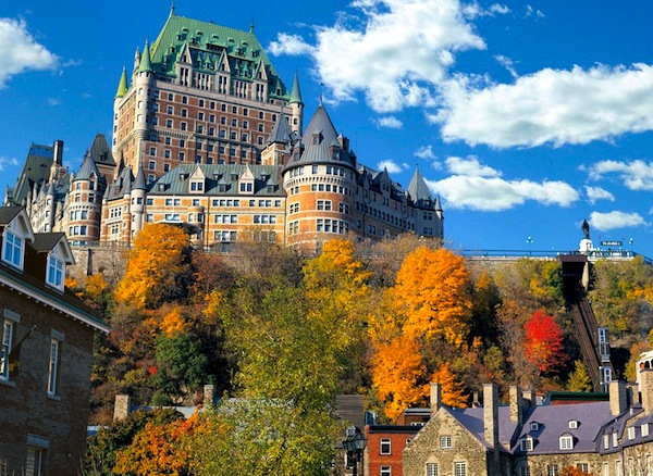 Quebec Canada. Picture courtesy of cntraveler.com