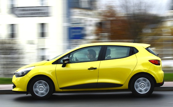 Renault Clio UK March 2014. Picture courtesy automobile-magazine.fr