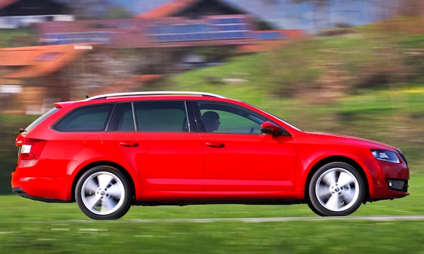 Skoda Octavia Europe February 2014. Picture courtesy of automobile-magazine.fr