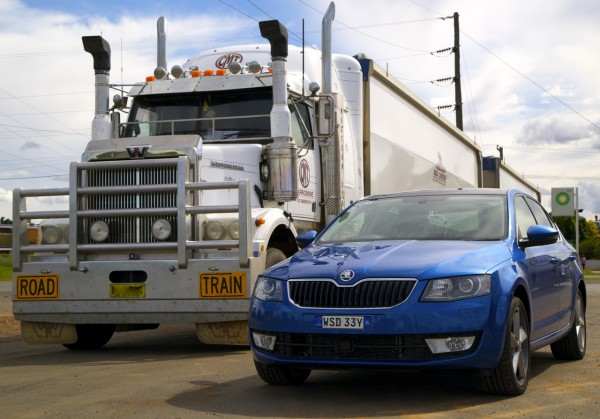 Skoda Octavia Road Train Nyngan April 2014