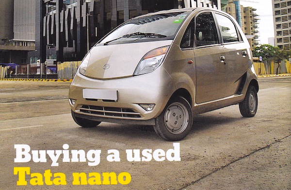 Tata Nano used. Picture courtesy of What Car March 2014