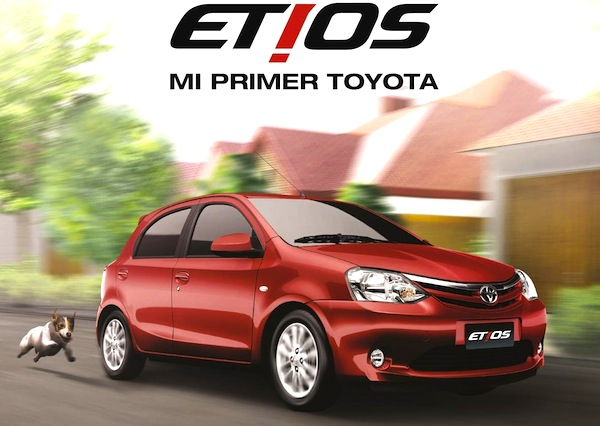 Toyota Etios Argentina March 2014