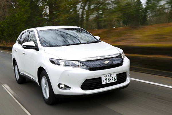 Toyota Harrier Japan March 2014