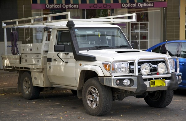 Toyota Land Cruiser ute Narromine