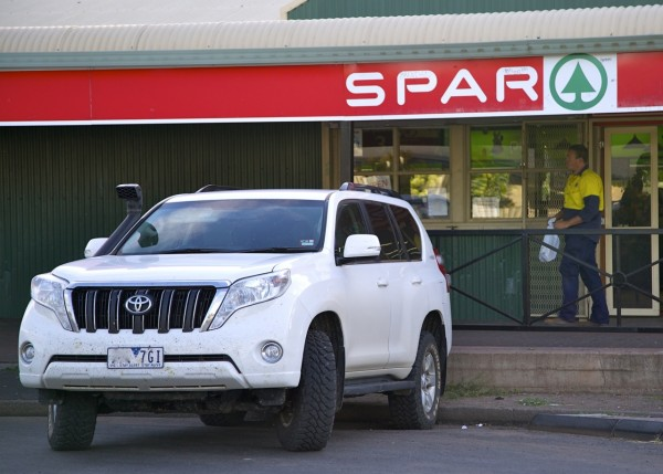 Toyota Prado Bourke April 2014