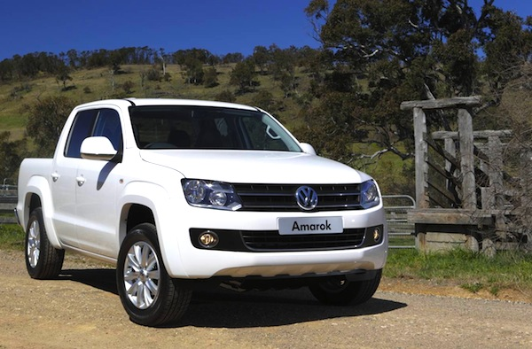 VW Amarok Australia March 2014. Picture courtesy of caradvice.com.au