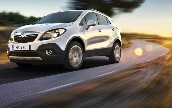 Vauxhall Mokka UK March 2014