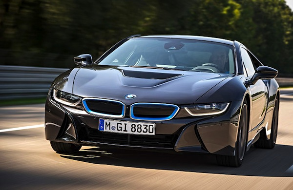 BMW i8 Germany April 2014. Picture courtesy of autobild.de