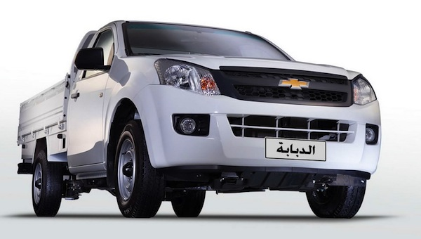 Chevrolet TFR Egypt April 2014. Picture courtesy of egyspeed.com