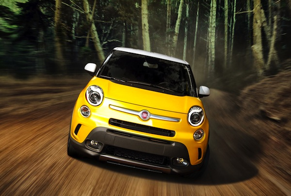 Fiat 500L Trekking USA April 2014