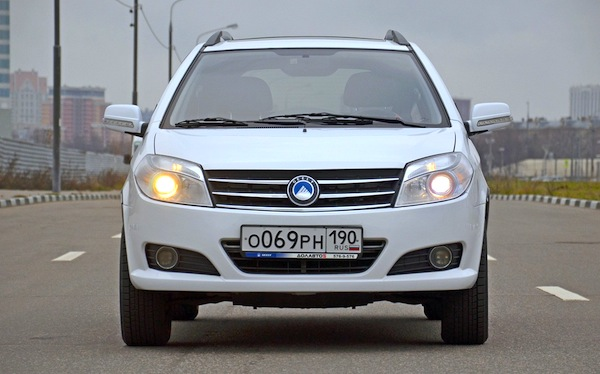 Geely MK Ukraine April 2014. Picture courtesy of zr.ru