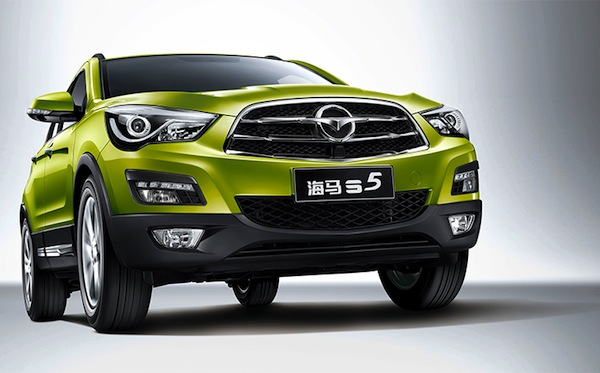 Haima S5 China April 2014
