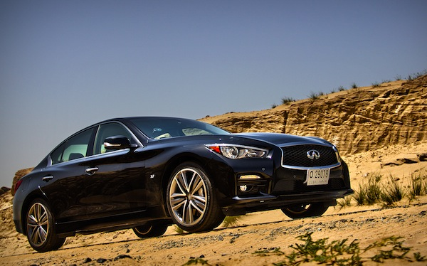 Infiniti Q50 Saudi Arabia March 2014. Picture courtesy of motoringme.com