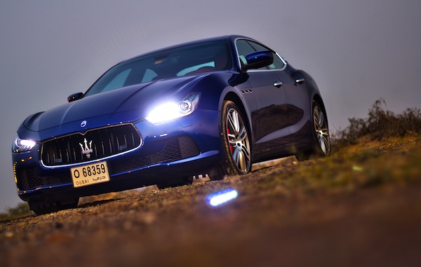 Maserati Ghibli UAE March 2014. Picture courtesy of motoringme.com