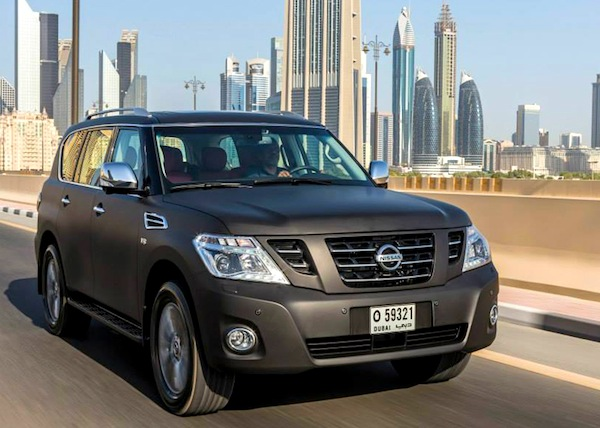 Nissan Patrol VVIP USE June 2014. Picture courtesy of drivearabia.com