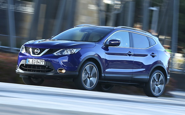 Nissan Qashqai Cyprus June 2014. Picture courtesy of automobile-magazine.fr