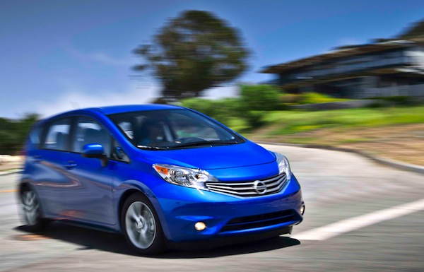 Nissan Versa Note Canada May 2014. Picture courtesy of motortrend.com