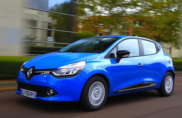 Renault Clio Italy July 2014. Picture courtesy of automobile-magazine.fr