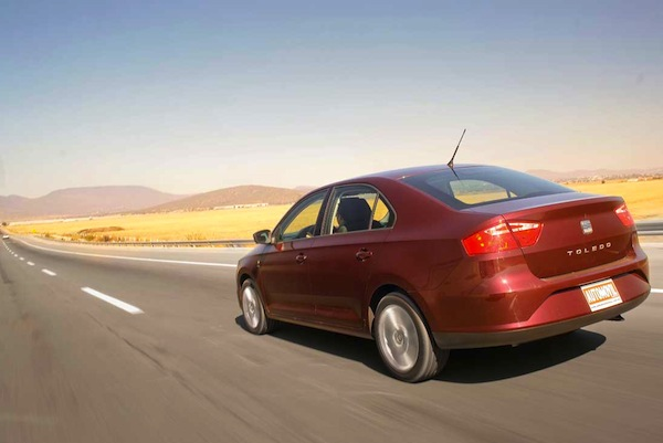 Seat Toledo Mexico 2013. Picture courtesy of automovilonline.com.mx