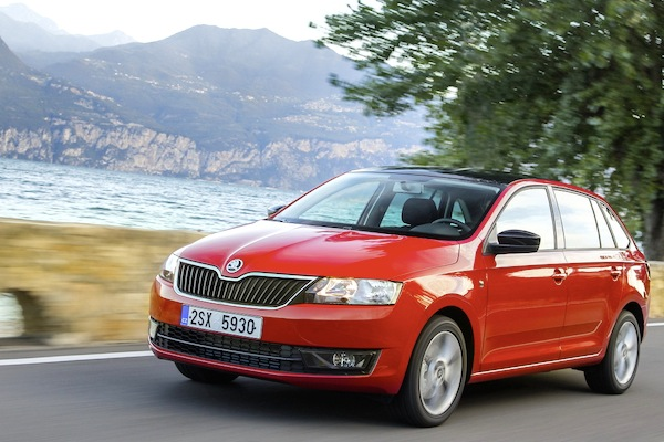 Skoda Rapid Spaceback Turkey April 2014. Picture courtesy of largus.fr