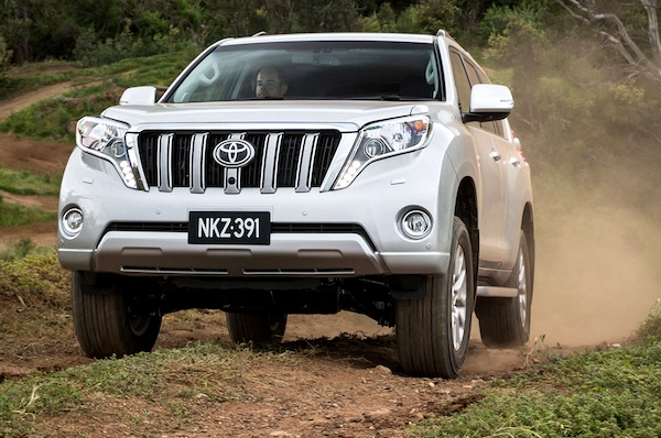 2013 Toyota Prado Kakadu. Picture courtesy of themotorreport.com.au