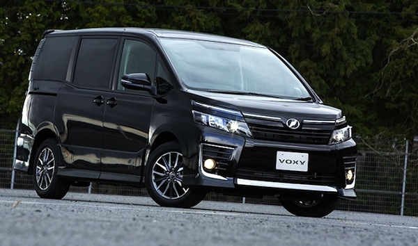 Toyota Voxy Japan April 2014. Picture courtesy of autoevolution.com
