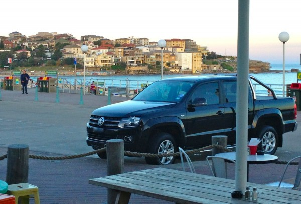 VW Amarok Bondi Beach Sydney May 2014