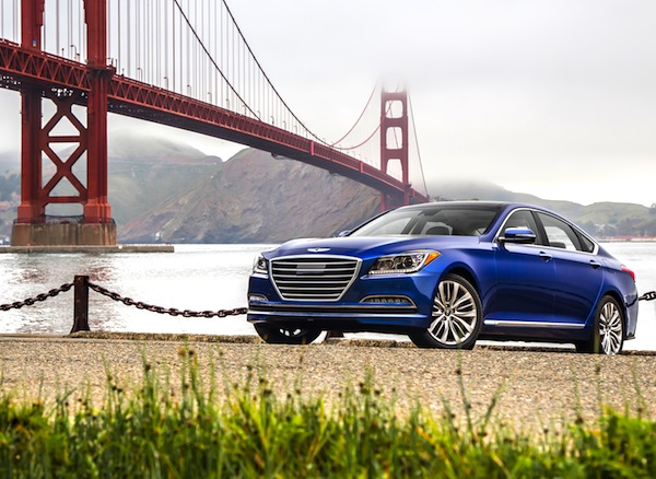 2015 Hyundai Genesis USA May 2014. Picture courtesy of motortrend.com